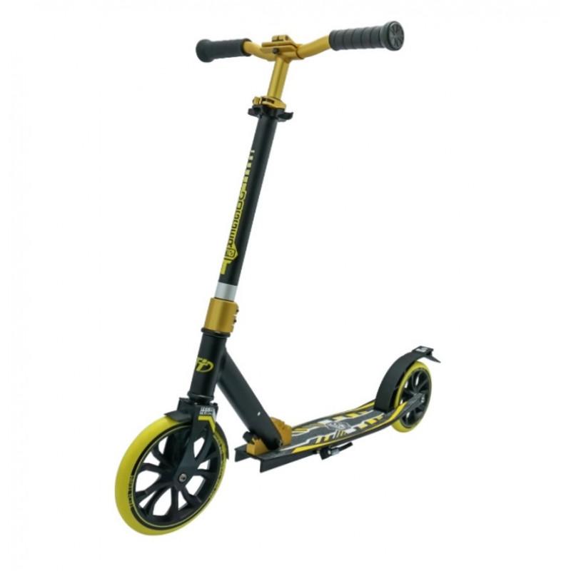 Городской самокат  TT Jogger 210  2021  1/2  чёрно-жёлтый