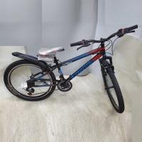 Велосипед 24 Avenger C241  чёр/крас. 13