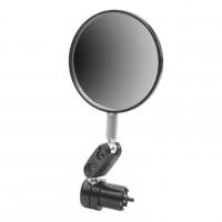 Зеркало заднего вида 220009  JY-5 пласт. чер