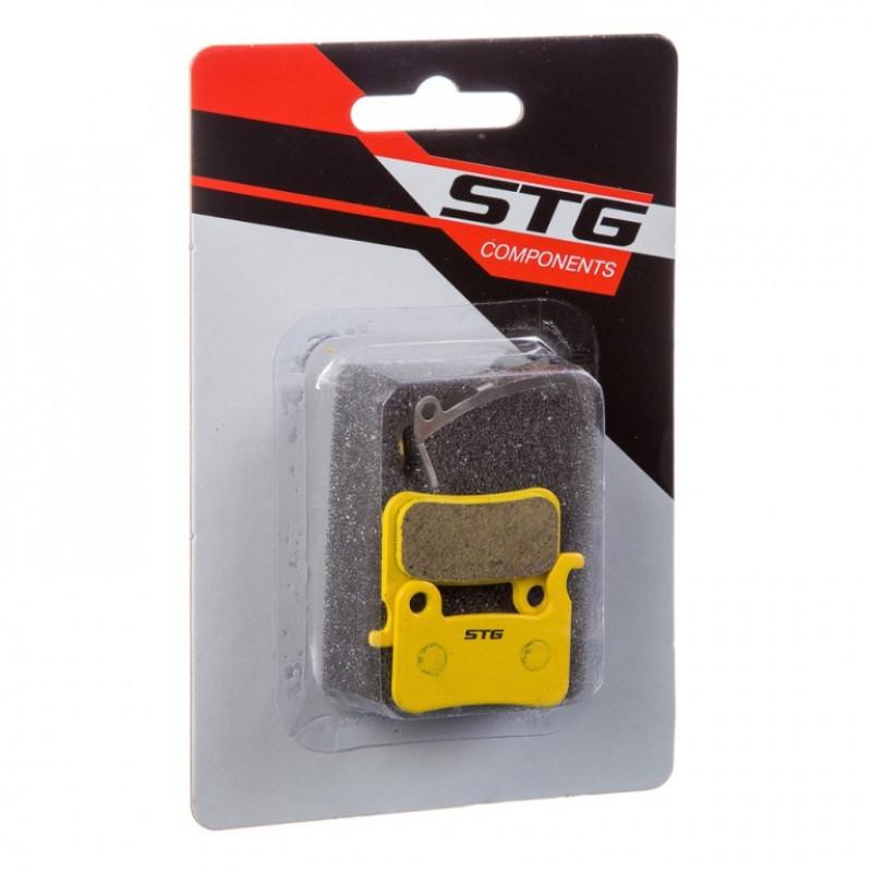 Колодки  X90069 тормоз. для диск STG DS17 цепкие