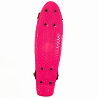 Скейтборд  636144  41см , пластик ,с пластмассовым креплением в ассортименте, PVC