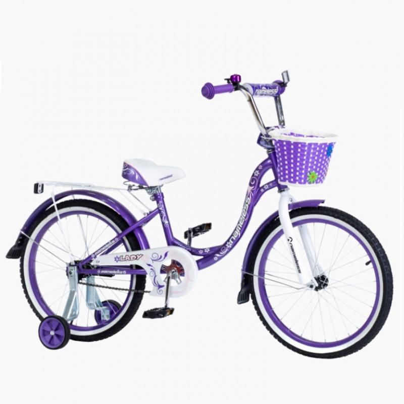 Велосипед 18 Nameless Lady, фиолетовый/белый