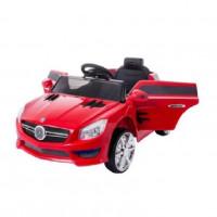 Электромобиль детский Mercedes-Benz S698RE цвет: красный  6V4,5AH*2, 2 мотора, р-у 2,4GHz, свет/звук, mp3, USB, открывается двери, размер 88*58*39,