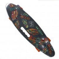 Скейтборд  ТТ Fishboard 23 print (mini) grey 1/4 TLS-406