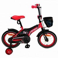 Велосипед 14 Nameless Cross, красный/черный