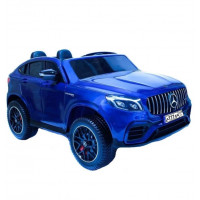 Электромобиль детский Mercedes-AMG GLC 63 S Coupe XMX 608 49927 (Р) полный привод, синий глянец