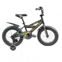 Велосипед 16 Fat bike TT BULLY  Black (АЛЮМИНИЙ)  (P)