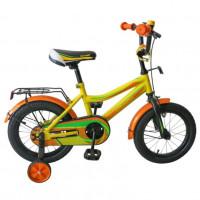 Велосипед 16 TechTeam Canyon цвет: жёлтый (сталь)