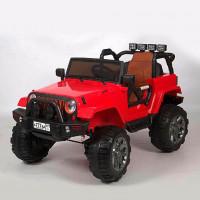 Электромобиль детский Jeep 45458 (Р) Полный привод! красный