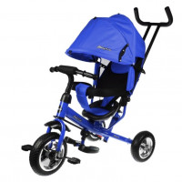 Детский 3-х колёсный велосипед 641337  Start 10*8 EVA, синий