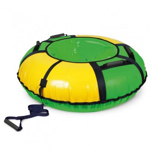 Тюбинг ТБ1К-110  зелёный/жёлтый ТБ1К-110/ЗЖ2