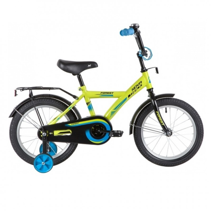 Велосипед 16 Novatrack Forest.GN20  зеленый