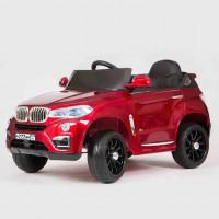 Электромобиль детский BMW X5 VIP, 45429 (Р) вишневый, глянцевый