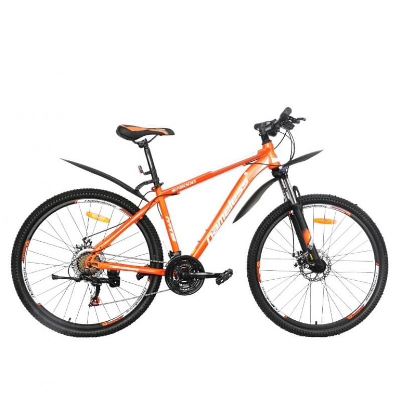 Велосипед 27,5 Nameless S7200D-OR/GR-17(21) оранжевый/серый 17