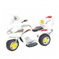 Электромотоцикл детский EC-B9777-3  БЕЛЫЙ  6V/4,5AH