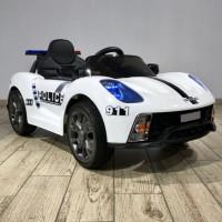 Электромобиль детский Porsche 911 Police Б005OС  50531 (Р) белый