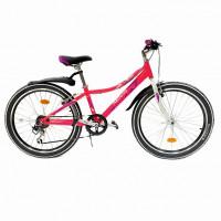Велосипед 24 Novatrack SH6SV.Alice.12PN21  6-ск розовый