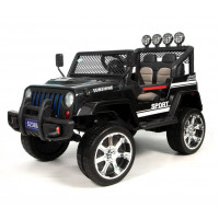 Электромобиль детский Jeep 50039 (4х4)  чёрный (P)