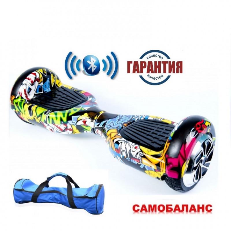 Гироскутер  6,5 Smart Balance Wheel Хип хоп  Музыка + Самобаланс самобаланс Whell new