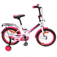 Велосипед 20  AVENGER NEW STAR, белый/розовый