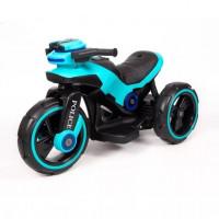 Электромотоцикл детский Y- MAXI Police 50495 (Р) голубой