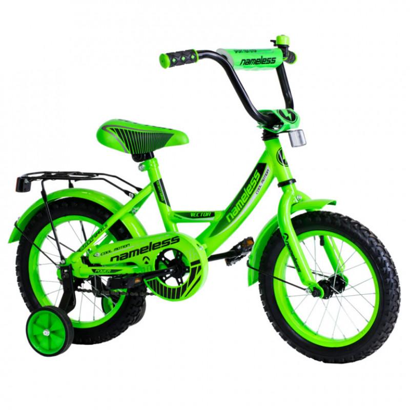 Велосипед 12 Nameless Sport, зелёный/черный