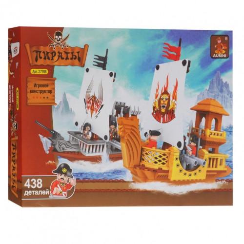 КОНСТРУКТОР  Ausini 27706 Пираты, 438 деталей