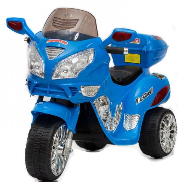 Детский электромотоцикл 34069 синий  121*49*72