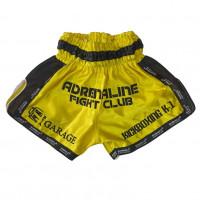 Шорты ММА UFC TOP KING желт-черн разм XS