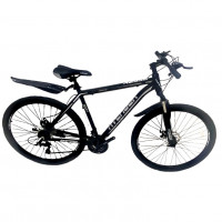 Велосипед 29 Nameless A295D-BK/WT-21, чёрный/белый
