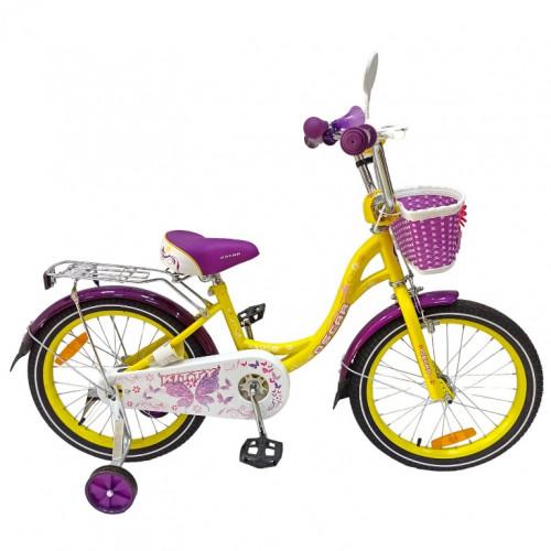 Велосипед 20 OSCAR KITTY Yellow/Purple (желтый/фиолетовый) 2021