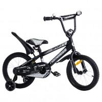 Велосипед 14 Nameless Sport чёрный/серебристый