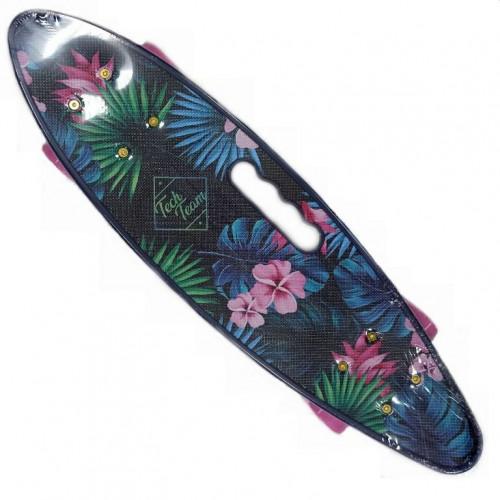 Скейтборд  ТТ Fishboard 23 print (mini) blue 1/4 TLS-406