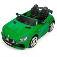 Электромобиль детский Mercedes-Benz AMG GT R 45494 (Р) двухместный  (Лицензионная модель) зеленый  глянец