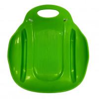 Ледянка  Метеор  ЛД33 51*46см  пластмас. зелёный (10)