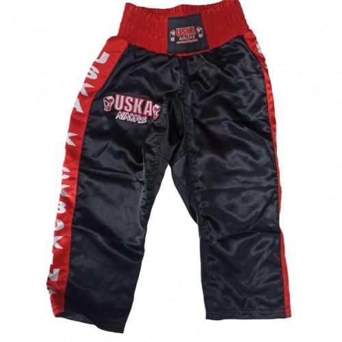 Шорты ММА GARAGE UFC красн-черн разм M