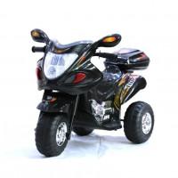 Электромотоцикл детский HL-238B черный 6V*4.5Ah