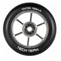 Колесо  110*24мм X-Treme , форма TRIANGLE для самоката HEX,серый