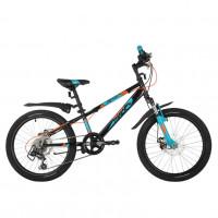 Велосипед 20 Novatrack SH6D.EXTREME.BK21 6 скоростей чёрный