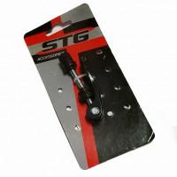 Зажим Х74045 STG для хомута подсидельного KS-54 с логотипом STG черный