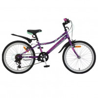 Велосипед 20 Novatrack SH6V.Alice.VL21   фиолетовый