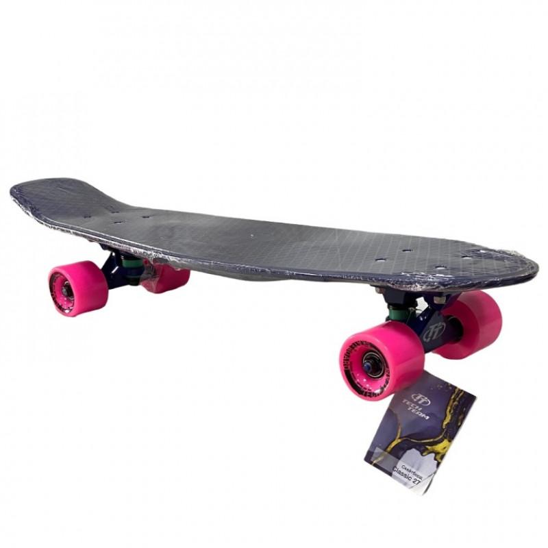 Скейтборд  ТТ Classik 27 blue 1/4 TLS-402