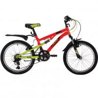 Велосипед 20 Novatrack SS12V.TITANIUM.RD20   12 ск.SHIMANO + аморт красный АКЦИЯ!!!