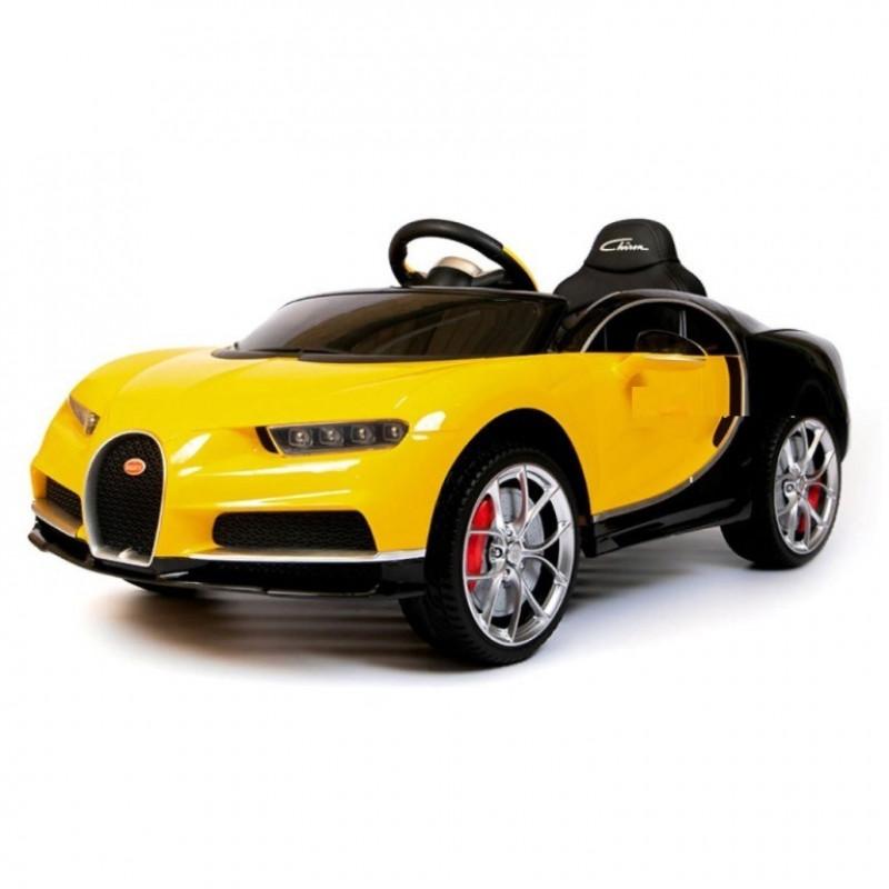 Электромобиль детский Bugatti Chiron HL318  50514 (Р) жёлтый
