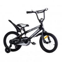Велосипед 12 Nameless Sport, черный/серебристый