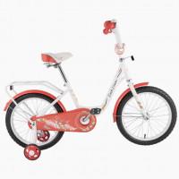 Велосипед 12 TТ 12131 бело-красный (оранжевый)