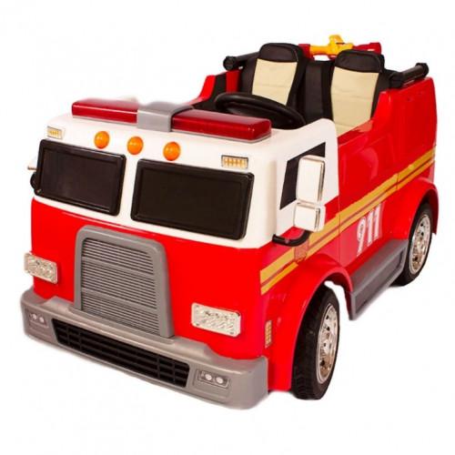 Детский электромобиль Пожарная M010MP 50374 красный (Р)