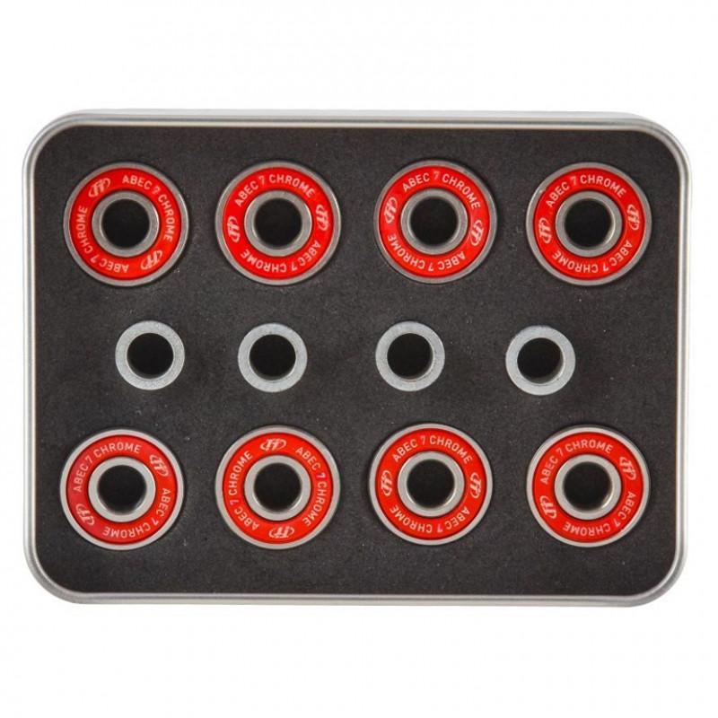 Подшипник набор  8 подшипн ABEC 7 и 4 шайбы для скейтборда