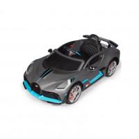 Электромобиль детский Bugatti Chiron HL338 51707 (Р)  (Лицензионная модель) серый матовый