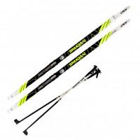 Лыжный комплект NNN креп STC 160см (4)+пал+кр степ